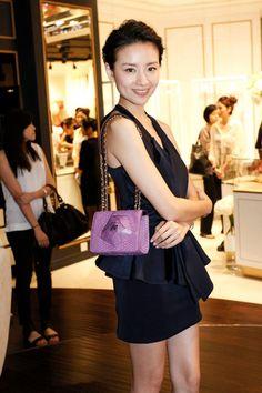 董潔 with Amelia Mini Shoulder