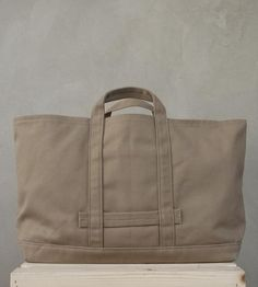 Griffith Park Carryall Tote Bag by Leather Cottage LA