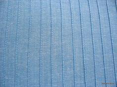 Sky Blue Pure Cotton Soft Pintuck Fabric
