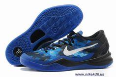 royal blue black 555035-401 Nike Zoom Kobe VIII 8 Outlet