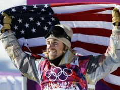 American Sage Kotsenburg won the first gold medal of the Olympics on Saturday in men's slopestyle snowboarding, and he did it by trying a trick he had never done before!