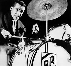 """Buddy Rich, arguably the greatest Swing and Bop Jazz drummer of the 20th Century, plays Ellington's """"Cotton Tail"""". Fasten your seatbelt!"""