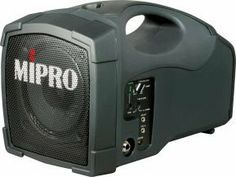 MIPRO MA-101a (6C) Personal Wireless 45-Watt PA System by MIPRO. $339.00. Available in three frequency set with different bands, frequency range and UHF station range: 6A, 6B, 6C  Same wireless microphone broadcasts to multiple MA-101a for expanded coverage (same channel) or up to 16 compatible systems at same venue (different channels) 100-meter (300 ft) operating range~line-of-sight Line-input accepts external CD/MP3/DVD player Line-output for external recordings...