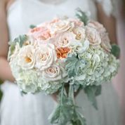 Gorgeous....blush bouquet | flowers by: Passion Roots | photo by: Frank Amodo | Couture Weddings Hawaii