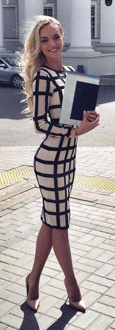 19 Stylish And Sexy Business Outfit Ideas - Malgorzata Reifers - Mode für Frauen Mode Outfits, Fashion Outfits, Womens Fashion, Fashion Trends, Fashion Heels, Dress Outfits, Dress Fashion, Trendy Fashion, Latest Fashion