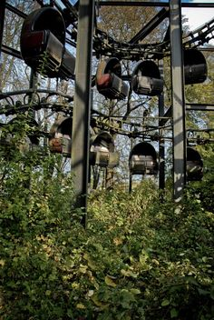 Bemusement Park  Journey through the lost and slowly decaying world of an abandoned amusement park left to receed slowly into tyhe undergrow...