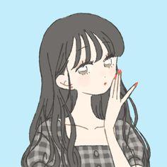 Anime Girl Cute, Kawaii Anime Girl, Anime Art Girl, Cartoon Girl Drawing, Girl Cartoon, Art And Illustration, Illustration Fashion, Cute Anime Character, Character Art