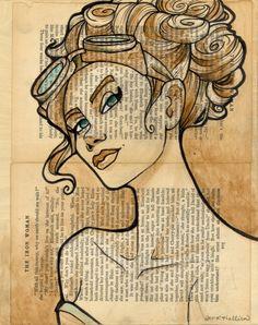 Deze afbeelding heb ik gekozen, omdat ik het een erg mooie afbeelding vind. Er staat een mooie vrouw op.