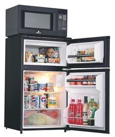 Cook N Cool One Plug Microwave Fridge Freezer Combo 3 0 Cf College Dorm Roomscollege