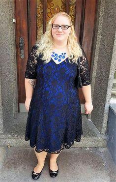 Schnittmuster Jenny Curvy Flair von TINALisa Schnittdesign als e-book, Papierschnitt für Damen in Kategorie Kleid