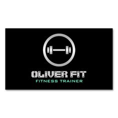 Fitness Trainer - Business Cards. This is a fully customizable business card and available on several paper types for your needs. You can upload your own image or use the image as is. Just click this template to get started!