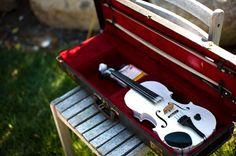 a white violin