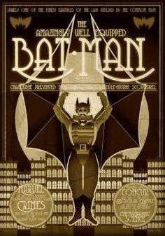 Steampunk Batman.