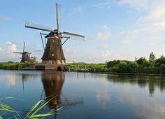 Kinderdijk in Zuid-Holland