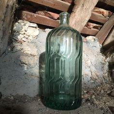 Heavy French Vintage Soda Syphon Bottle by FrenchVintageRetro on Etsy