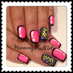 Cartoon Nails with a little but of fun!!!