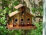 HOME › Special › RUSTIC CHURCH BIRD HOUSE