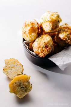 sweet and savory cheddar cheese muffins - www.iamafoodblog.com