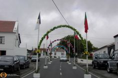 The Azores Islands consist of many picturesque sights.  This one is in Beira, São Jorge, Azores.  http://www.marialanguages.com/culture.shtml