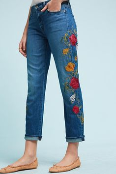 Shop the 7 For All Mankind Embroidered Mid-Rise Straight Boyfriend Jeans and more Anthropologie at Anthropologie today. Read customer reviews, discover product details and more.