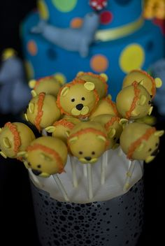lion cake pops by mags20_eb, via Flickr