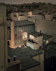 Toits de Paris. Alain Cornu Photographe.