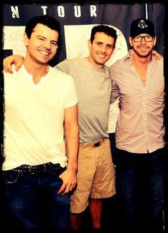 Jordan, Joey & my fave Donnie