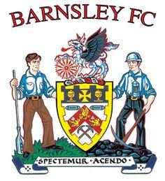 Barnsley FC Football Team Logos, Soccer Logo, Sport Football, Football Cards, Football Shirts, Sports Logos, British Football, English Football League, Barnsley Fc