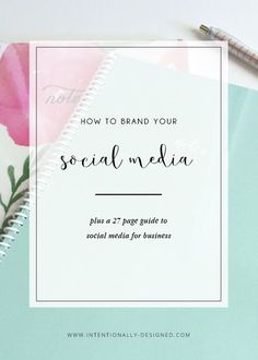 How to brand your social media: The key to social media branding is consistency. Consistency helps establish your brand and communicates the right message (and same message) in every touch point that you have with your audience.