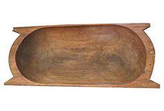 Wooden Dough Bowl