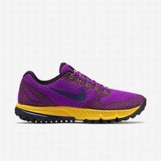 official photos 330c8 8f742 Nike Women s Vivid Purple Laser Orange Black Deep Royal Blue Air Zoom  Wildhorse