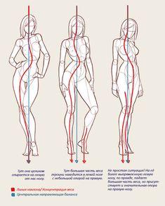 СОВЕТ 6: Старайтесь, чтобы ноги были расположены таким образом, чтобы сохранялся баланс по отношению к центру тела персонажа, при этом не забывайте, где сосредоточен вес всего тела.  http://ambrozioart.tumblr.com/post/120693380222/%D0%BA%D0%B0%D0%BA-%D0%BE%D0%B6%D0%B8%D0%B2%D0%B8%D1%82%D1%8C-%D0%BF%D0%B5%D1%80%D1%81%D0%BE%D0%BD%D0%B0%D0%B6%D0%B0