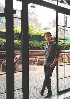 Lovely day.. Benedict cumberbatch