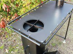 20 Outdoor Grill Designs and What to Look for When Buying – Modern Home Metal Bending Tools, Metal Working Tools, Barbecue Design, Grill Design, Scrap Wood Projects, Welding Projects, Rocket Stove Design, Tiny Wood Stove, Bbq Equipment