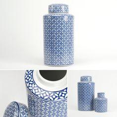 Pote Azulejo Cerâmica Diâmetro: 21 x 40 cm | A Loja do Gato Preto | #alojadogatopreto | #shoponline | referência 33566785