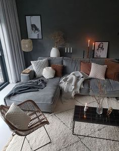 Cozy living room ideas and design 00036 ~ Home Decoration Inspiration Casual Living Rooms, Cozy Living Rooms, Home Living Room, Living Room Decor, Decor Room, Room Interior, Interior Design Living Room, Living Room Designs, Interior Livingroom