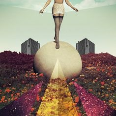 Collages by Julien Pacaud