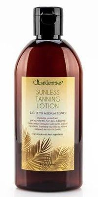 Description Get a tropical tan without a tanning bed or the sun. This revolutionary self-tanner provides beautiful color while benefiting your skin with botanical ingredients. It is made with nature's