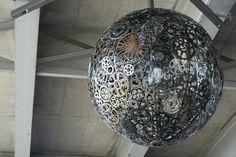 Zahnrad-Lampe