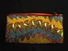 hand hooked bag