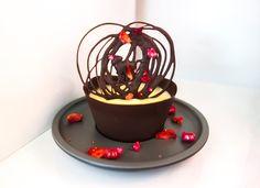 Vasitos de chocolate con mousse de mango para #Mycook http://www.mycook.es/cocina/receta/vasitos-de-chocolate-con-mousse-de-mango