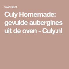 Culy Homemade: gevulde aubergines uit de oven - Culy.nl