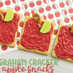 School Snacks For Kids, Back To School Crafts, School Treats, Toddler Snacks, School Snacks For Kindergarten, Snacks Kids, Back To School Party, Back To School Activities, Toddler Fun