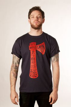 The Woodsman t-shirt by P & Co.