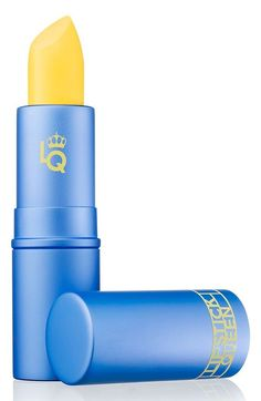 Sunshine in a tube! This bright yellow lipstick transforms into a beautiful bright coral shade when worn on the lips. Lipstick Queen's transforming lip shade, Mornin' Sunshine makes every day a good day. Yellow Lipstick, Lipstick Colors, Lip Colors, Bright Lipstick, Blue Eyeshadow, Eyeshadow Palette, 80s Makeup, Makeup Lipstick, Beauty Makeup