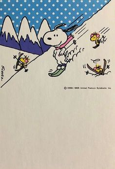 Snoopy and friends winter