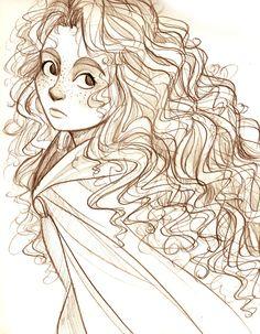 Sketch Merida - Pixars` Brave