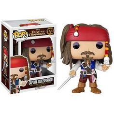 [Pirates of the Caribbean: Pop! Vinyl Figures: Jack Sparrow (Product Image)]
