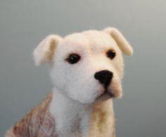needle felted pitbull https://www.etsy.com/shop/willane