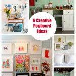 6 Creative Pegboard Ideas